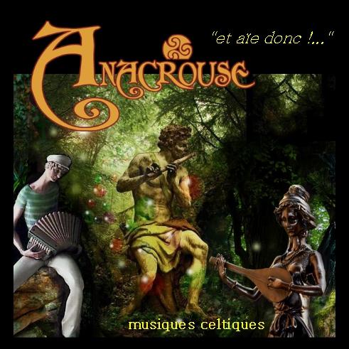 Pochette nouvel album Anacrouse