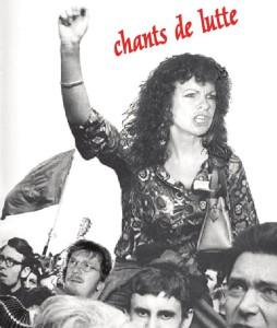 Affiche Chants de lutte